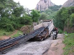Stupid trucker (chatts) Tags: camping trekking hill monolith chatts savandurg ramanagaram 12919654n77292881e
