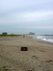 September at Rockaway Beach NY-Bye Summer