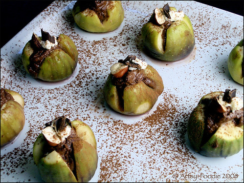 Chocolate Hazelnut Fig Platter