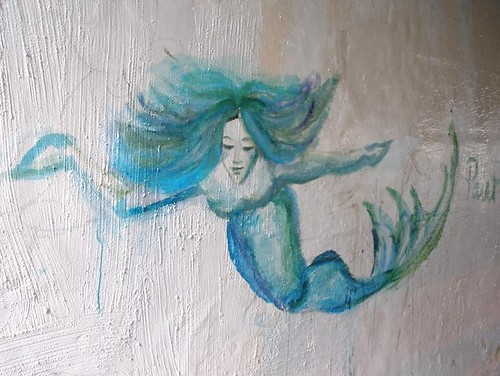 Mermaid in the Brock Underpass