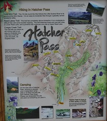 Hatcher Pass Roadside Map