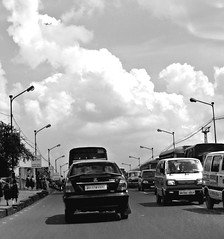 Shubhrajit's day out: Busy, busy BT Road