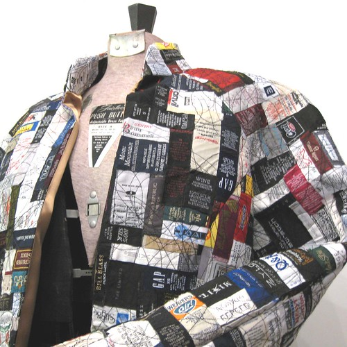 Brand Identity Wearable Art Tags and Labels Jacket
