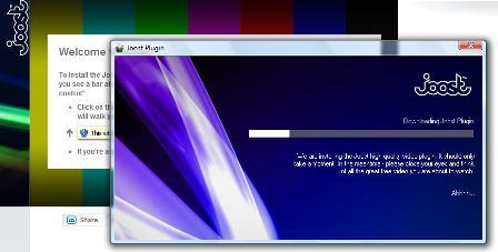 Joost - install plugin