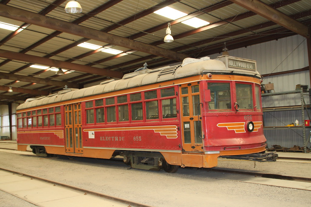 "Pacific Electric ""Hollywood Car"" 655"