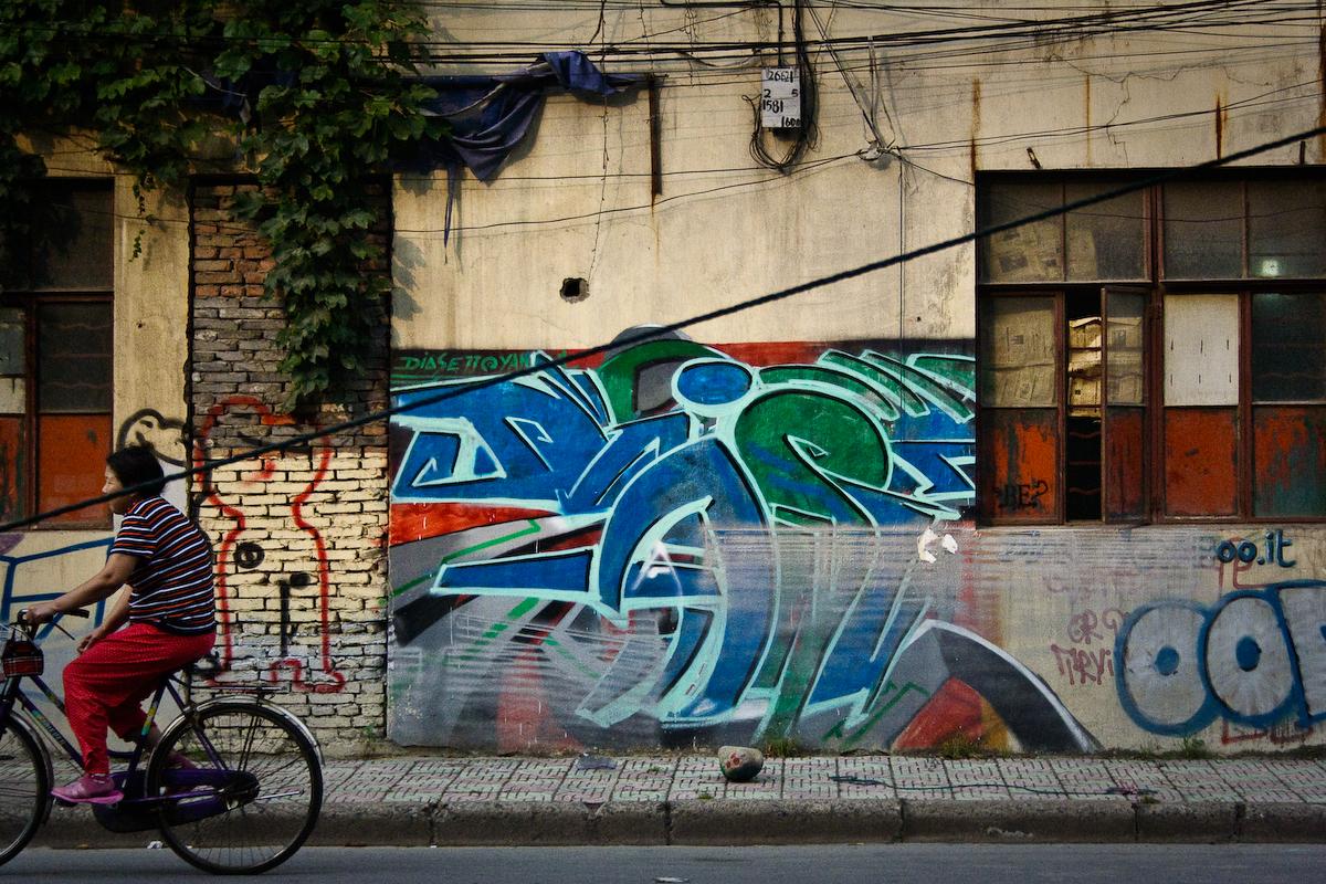 shanghai street art