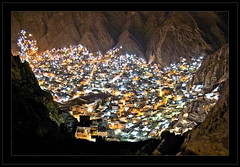 Nestled. (Explored). (Commoner28th) Tags: street new city longexposure nightphotography travel blue winter pakistan light sunset shadow red summer sky people urban moon white house mountain afghanistan black blur color building home nature water colors skyline architecture night clouds buildings dark stars landscape photography lights evening noche nikon long exposure downtown neon shadows nightshot traffic nest dusk hills valley khan 2008 ahmed nuit csa hazara agha quetta waseem commoner mariabad baluchistan mywinners flickrdiamond kommoner commoner28th
