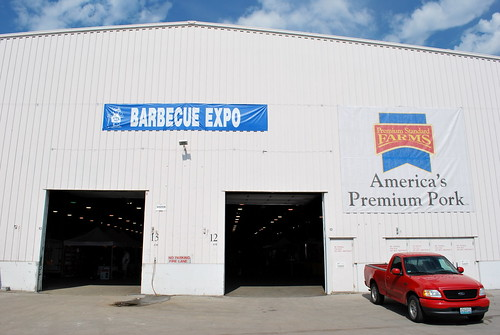 Barbecue Expo Building (by Adam &quot;Slice&quot;<br /> Kuban)