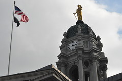 Brooklyn Borough Hall (Triborough) Tags: nyc newyorkcity ny newyork clock statue brooklyn cityhall boroughhall downtownbrooklyn kingscounty cadmanplaza brooklyncityhall brooklynboroughhall newyorkciity