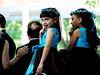 blue dress brown dress blue wedding dress brown wedding dress photo