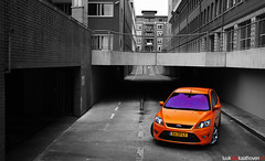 Ford Focus ST.. (Luuk van Kaathoven) Tags: auto street orange ford car st photography nikon focus flickr automotive explore nikkor 1870 explored d80 luukvankaathovennl
