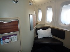 View from the First Class Seat