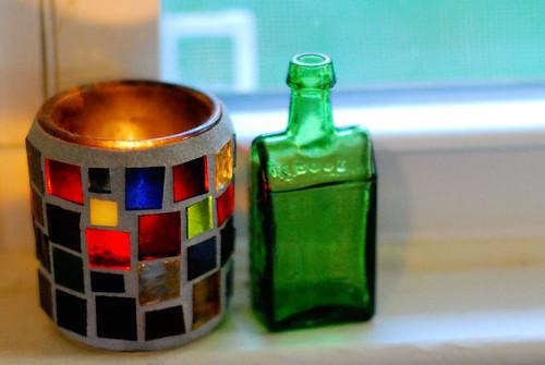 i love colorful glass