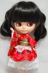 Kimono Dress Set