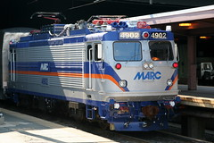 EMD AEM-7 MARC #4902 (cliff1066) Tags: railroad electric train washingtondc centennial dc washington track diesel rail railway loco steam caboose amtrak railcar marc 100th locomotive boxcar unionstation engineer booster buffer bogie coupler railstation amtrac rollingstock alco mainline emd gennie aem7 shunt americanlocomotivecompany aunit electricloco sw1000r unionstationcentennial