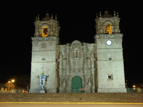 Puno cathedral...