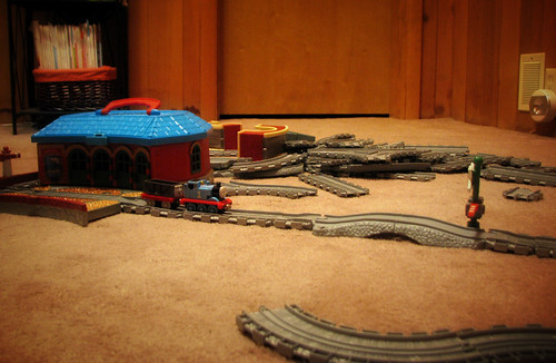 Thomas tracks/mess