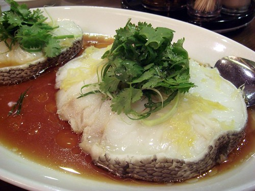 steamed cod@Crystal Jade T2