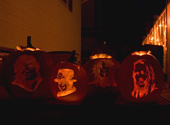 Happy Halloween from Motley Crue (beautyinmetal) Tags: mars halloween up night lights glow nikki bright pumpkins vince neil carving tommy carve lee lit mick motley crue sixx