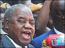 Zambia's new president Rupiah Banda, who was sworn in on Sunday, November 2, 2008. He served as vice-president prior to the death of former head-of-state Levy Mwanamasa. by Pan-African News Wire File Photos