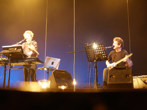 laurie anderson and lou reed, live in tel aviv last night