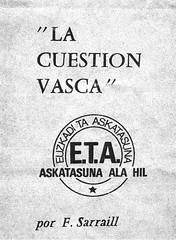 La Cuestion Vasca (2. argitld.)