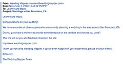 The Irony is Not Lost on Me (moyalynne) Tags: wedding san francisco weddingmapper
