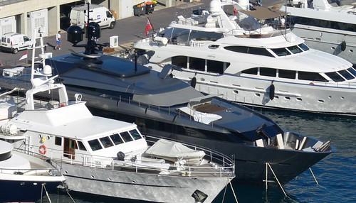 Luxe jachten in Monaco