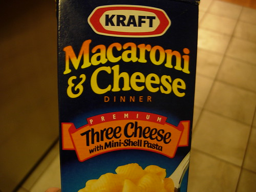 Kraft Dinner, we meet again.