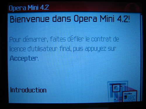 Télécharger et installer Opera Mini sur Blackberry Curve 8310 07