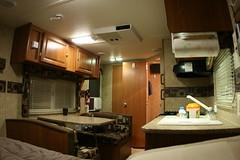 Trailer kitchen and dinette (slworking2) Tags: skyline 17 nomad inside trailer rv camper 2008 171