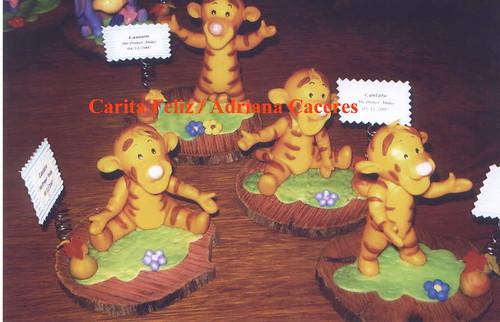Centros de mesa de tigger bebé - Imagui