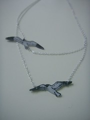 Black Headed Gulls (bbel-uk) Tags: bird nature birds metal fauna silver fly geese necklace acrylic gulls jewelry jewellery bracelet environment jewelery migration simple swooping bbel