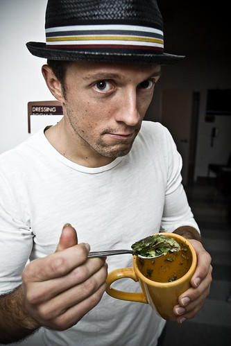 Jason Mraz Backstage Candid Photos