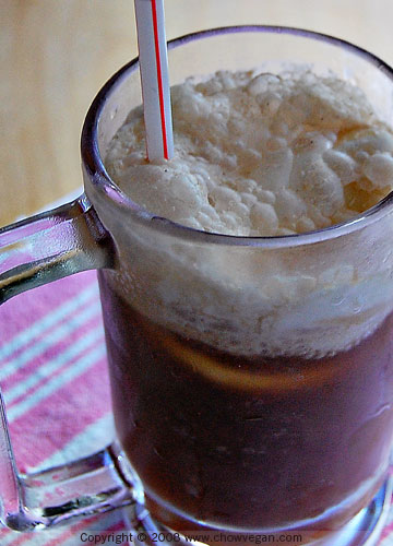 Purely Decadent Root Beer Float