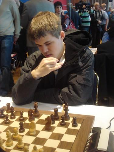 Magnus Carlsen, 1r tauler de Noruega