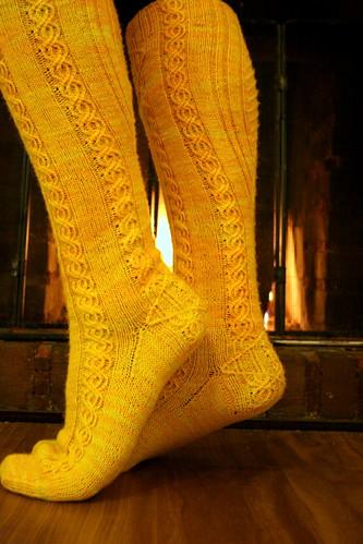 Lissajous Socks