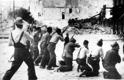 Milicianos disparan en Toledo