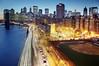 5 PM New York City (Tony Shi Photos) Tags: nyc newyorkcity longexposure bridge usa brooklyn night america fdrdrive downtownmanhattan 美国 2470 纽约 繁华 紐約 nikond700 ньюйорк ニューヨークシティ 뉴욕시 thànhphốnewyork न्यूयॉर्कशहर مدينةنيويورك นิวยอร์กซิตี้