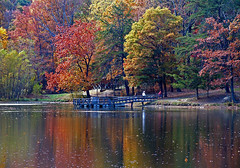 Autumn Rainbow (Mary America) Tags: park autumn light favorite usa lake color reflection fall love nature beauty america interesting flickr seasons emotion earth kentucky ky air favorites explore passion ourkentucky