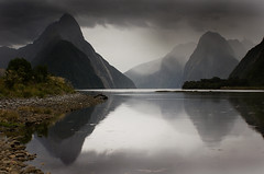 Goodbye New Zealand (Kenny Muir) Tags: new newzealand beauty landscape zealand nz sound southisland milford fiord breathtaking mitrepeak fiordland impressedbeauty