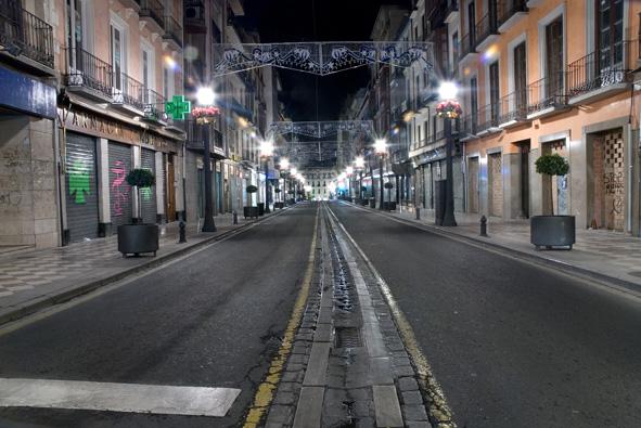 vacío nocturno