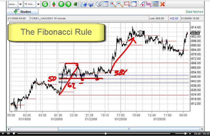Market Club Fibonacci Gold