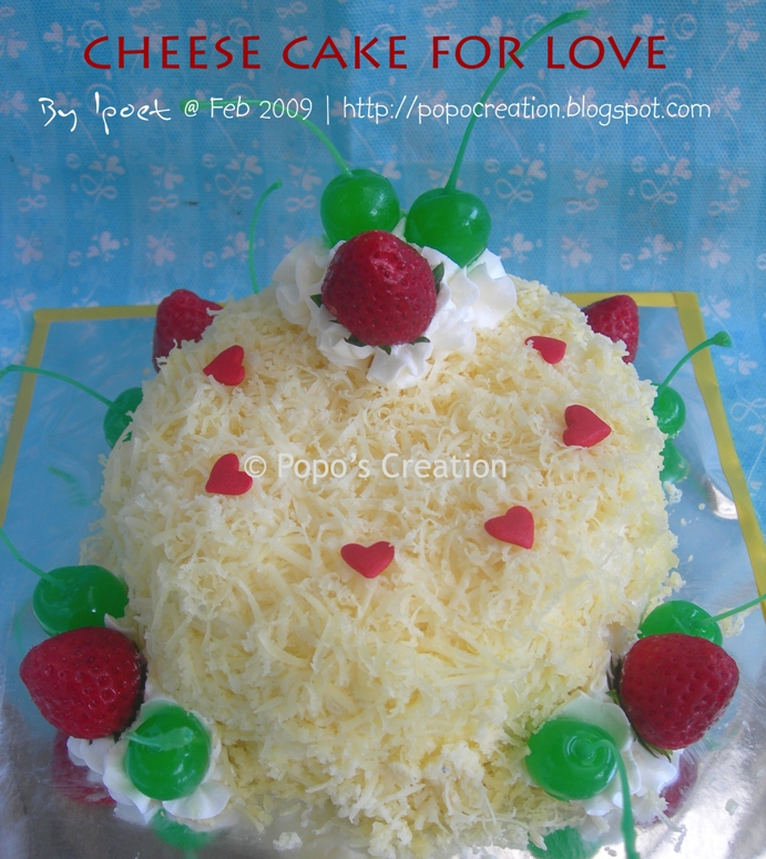Cheese cake for Love