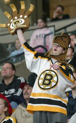 Boston Bruins fan by you.