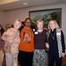 Sharon Livingstone, Leslie Smith, Debby Horton, Judy Clawson