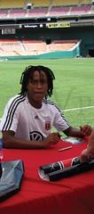 Thabiso Khumalo (Vanessa Palma) Tags: soccer players dcu rfk dcunited mls thabiso meettheteam khumalo