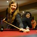 Hanna and Jinna, at the pooltable