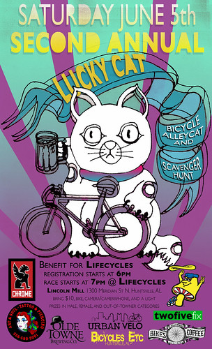 Lucky Cat Alleycat Race