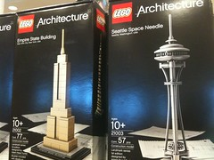Lego architecture Space Needle model... Nice!!